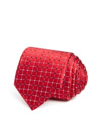W.r.k. | Red Connected Dots Classic Tie for Men | Lyst
