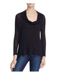 Soft Joie | Blue Estee Cowl Neck Sweater | Lyst