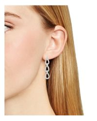 Nadri | Multicolor Twisted Link Drop Earrings | Lyst
