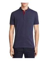 BOSS Orange | Blue Playit Slim Fit Polo Shirt for Men | Lyst