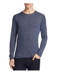 BOSS Orange | Blue Kwamero Cotton Roll Edge Sweater for Men | Lyst