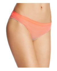 Calvin Klein | Orange Seamless Illusions Bikini #qd3548 | Lyst