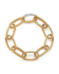 Roberto Coin | Metallic 18k Yellow Gold New Barocco Bracelet | Lyst