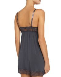 Eberjey - Multicolor Women's Noor Chemise - Racing Red - Size Small - Lyst