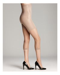 Spanx - Natural In-power Line Super Footless Shaper - Lyst