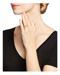 Roberto Coin - Metallic 18k Yellow Gold Knot Ring - Lyst