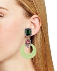 DANNIJO - Multicolor Bruce Clip-on Earrings - Lyst