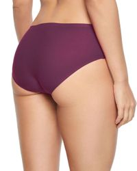 Chantelle - Purple Soft Stretch One-size Seamless Hipster - Lyst