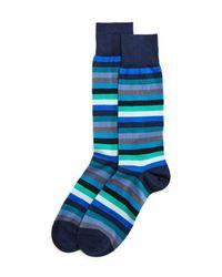 Paul Smith - Blue Thol Stripe Socks for Men - Lyst