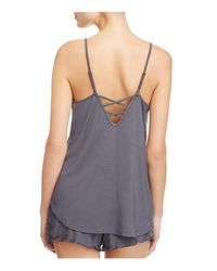 Pj Salvage - Gray All Tied Up Cami - Lyst