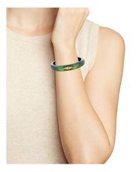Alexis Bittar - Green Studded Hinge Bracelet - Lyst