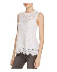 Generation Love | White Sleeveless Lace Top | Lyst