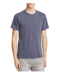 Joe's Jeans | Blue Vintage Distressed Jersey Tee for Men | Lyst