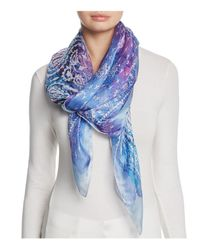 Jane Carr | Purple The Mistral Square Silk Scarf | Lyst