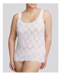 Hanky Panky - White Plus Signature Lace Unlined Cami - Lyst