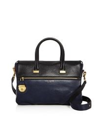 Marc Jacobs | Blue The Standard East/west Medium Leather Tote | Lyst