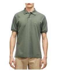 Lacoste   Green Classic Cotton Piqué Regular Fit Polo Shirt for Men   Lyst