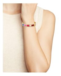 Kate Spade - Multicolor How Charming Bangle - Lyst