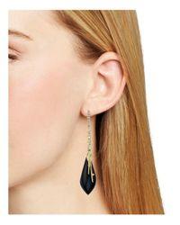 Alexis Bittar - Black Spike Drop Earrings - Lyst