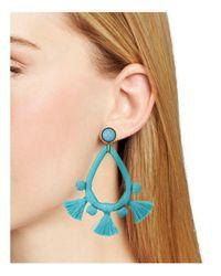 BaubleBar - Blue Sardinia Drop Earrings - Lyst