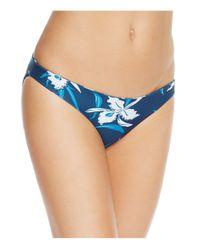 Mikoh Swimwear   Blue Zuma Bikini Bottom   Lyst
