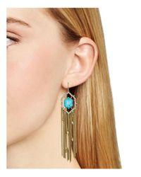Alexis Bittar - Multicolor Stone Tassel Drop Earrings - Lyst
