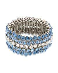 Carolee   Blue Stretch Bracelet   Lyst