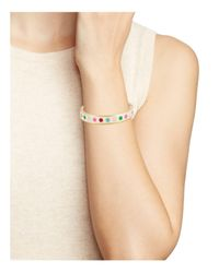 Kate Spade - Multicolor Be Bold Hinged Bangle - Lyst