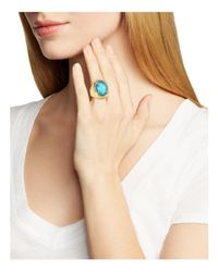 Alexis Bittar - Multicolor Encased Stone Cocktail Ring - Lyst