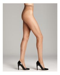 Wolford   Natural Luxe 9 Sheer Tights   Lyst