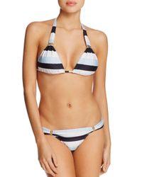 ViX - Blue Sea Glass Halter Bikini Top - Lyst