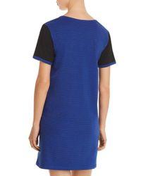 Naked - Blue Essential Power Stripe Short Sleepshirt - Lyst