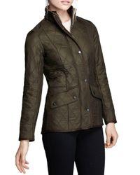 Barbour - Green Cavalry Polarquilt Jacket - Lyst