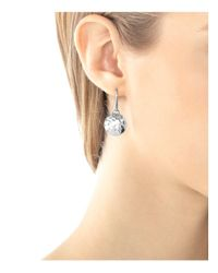 John Hardy | Metallic Palu Sterling Silver Round Drop Earrings | Lyst