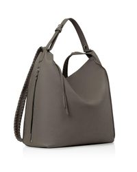 AllSaints - Gray Kita Backpack - Lyst