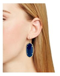 Kendra Scott - Blue Elle Earrings - Lyst