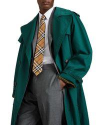 Burberry - Multicolor Maston Checked Silk Skinny Tie for Men - Lyst