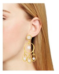 Stephanie Kantis - Metallic Chime Drop Earrings - Lyst