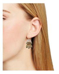 Alexis Bittar - Metallic Multi-stone Chandelier Earrings - Lyst