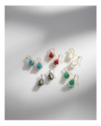Kendra Scott - Multicolor Juniper Earrings - Lyst