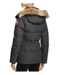 Canada Goose - Black Chelsea Down Coat - Lyst
