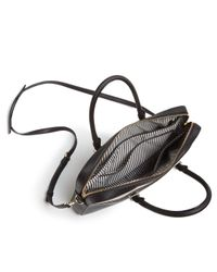 "Kate Spade - Black 13"" Color Block Saffiano Leather Laptop Case - Lyst"