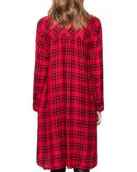Zadig & Voltaire - Red Ramara Car Dress - Lyst