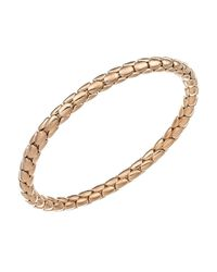 Chimento | White 18k Yellow Gold Stretch Spring Collection Disc Rope Bracelet | Lyst