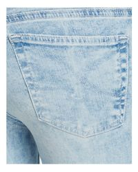 AG Jeans - Blue Acid Wash Denim Leggings In Charming - Lyst