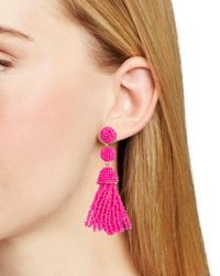 BaubleBar - Pink Mini Granita Drop Earrings - Lyst