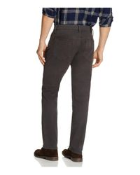 Joe's Jeans | Multicolor Brixton Kinetic Collection Straight Fit Twill Jeans In Raven for Men | Lyst