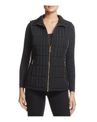 Calvin Klein - Black Quilted Puffer Vest - Lyst