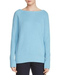 Maje - Blue Moon Crisscross-back Sweater - Lyst