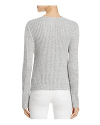 C/meo Collective - Gray Evolution Crossover Sweater - Lyst